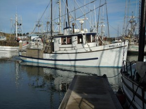 F/V Rosella, our Dungeness crab and salmon boat